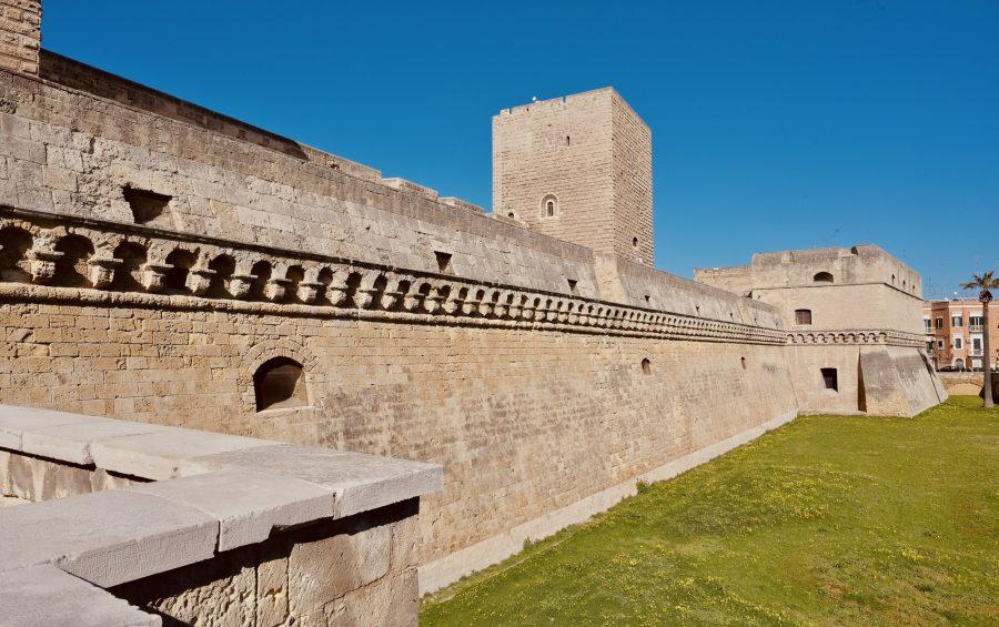 """Bari, 18 febbraio 2020. I luoghi dove si svolgerà l'incontro """"Mediterraneo Frontiera di Pace """""""