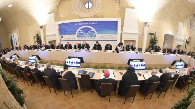 """Bari, 19 febbraio 2020. """" Mediterraneo, Frontiere di Pace """""""